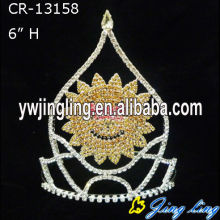 Pageant Crown Sunflower Shape Crown