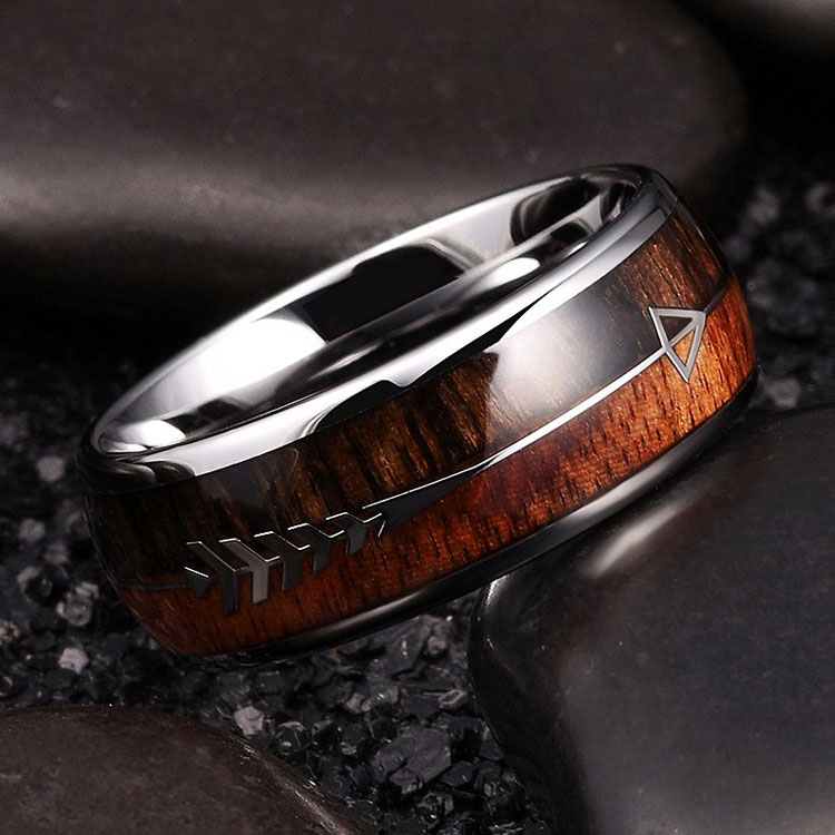 Unique Tungsten Mens Wedding Rings