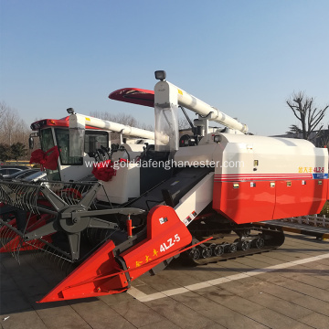 ISO CE rice combine harvester new style