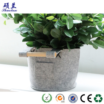 100% polyester felt storage bag basket