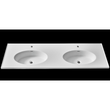 Pure acrylic solid surface embedded sink for cabinet