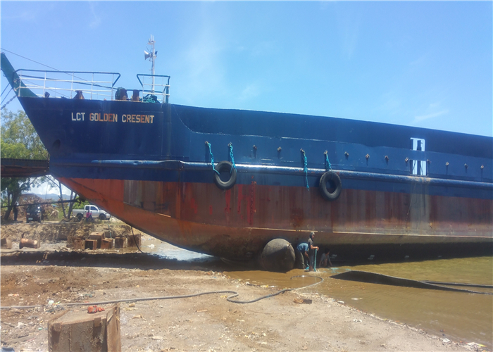 Ship Roller Launching Airbags