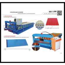 OEM for Sandwich Panel Glazed Tile Roll Forming Machine supply to Slovenia Manufacturers