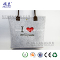 Felt shopping bag fashion style