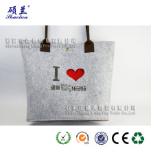 Super Lowest Price for China Manufacturer of Felt Leisure Bag,Felt Women Leisure Bag,Felt Handbag Leisure Bag,Leisure Style Felt Bag Good quality customized logo felt tote bag export to United States Wholesale