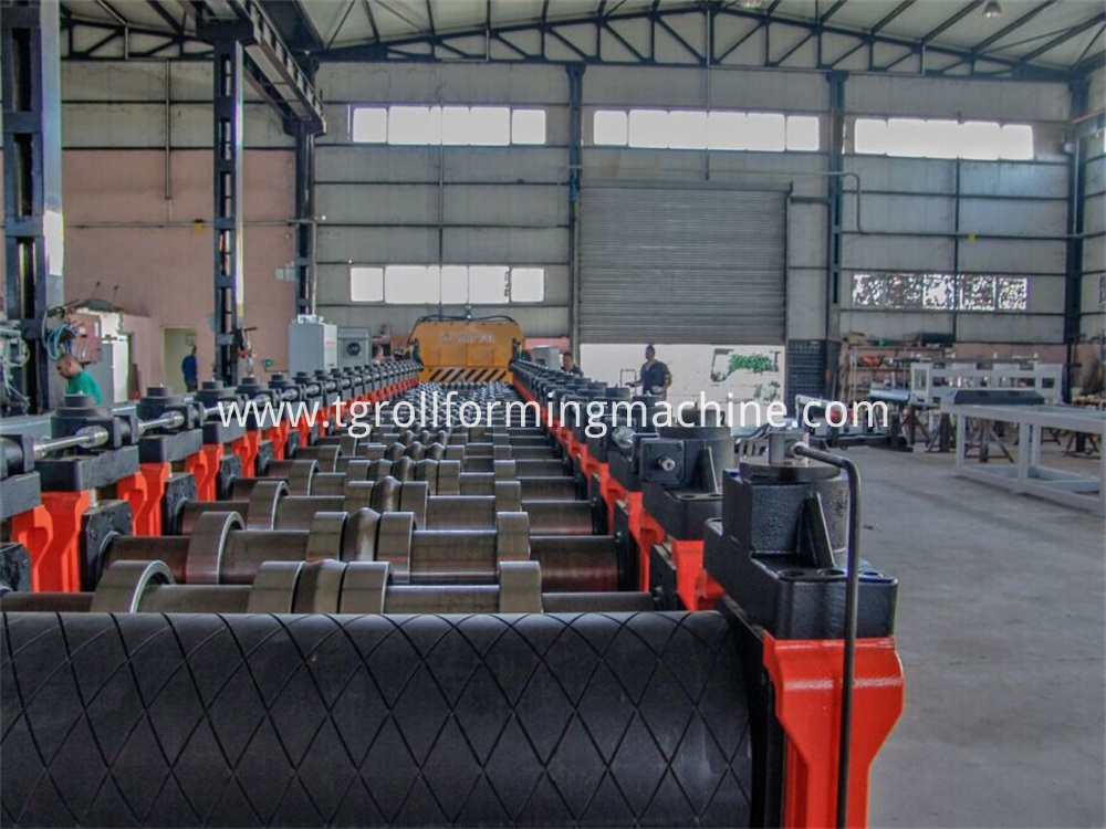 Grain Bin Roll Forming Machine