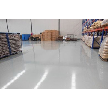 Storage workshop heavy epoxy floor paint