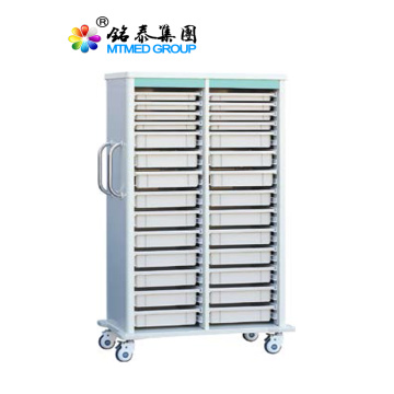Hospital emergency medicine delivery trolley