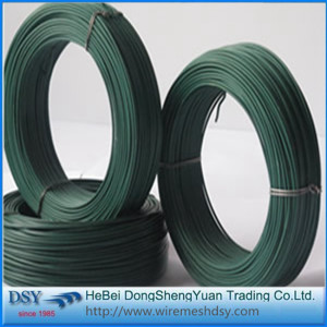 1.2/1.5mm PVC coated insulated iron wire