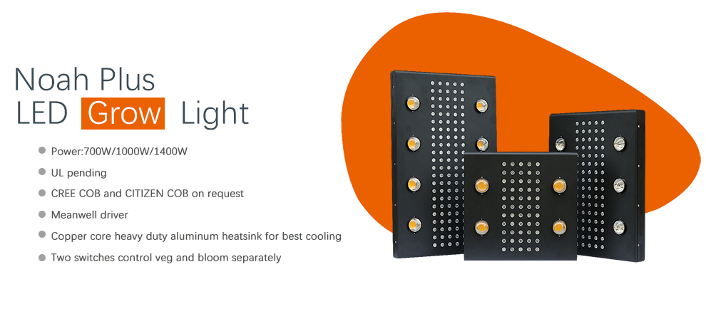 Noah plus led grow light