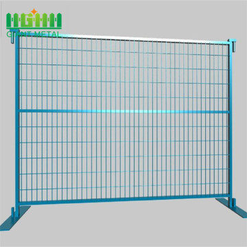 6 X10 ft pvc coated canada temporary fence panel