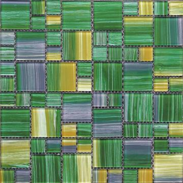 Size Mixed Hand Painting Glass Mosaic