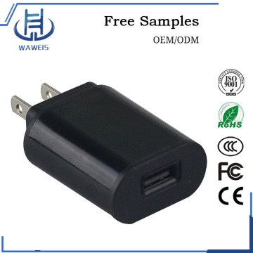 USB wall charger 5v adapter for mobile phone