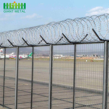 High Quality Galvanized Security Airport Fence