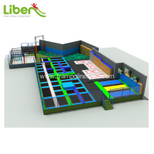 Indoor best trampoline park for sale