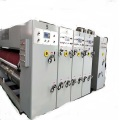 printer slotter die cutter stacker machine