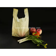Yellow Plastic Shopping Bags