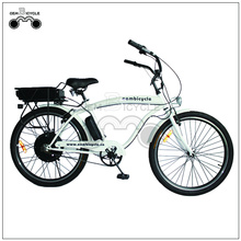 26 Inch 1000W Beach Cruiser Style Electric Bike