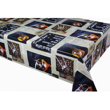 Elegant Tablecloth with Non woven backing Qatar