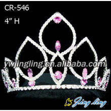Rhinestone Crown Wedding Crown