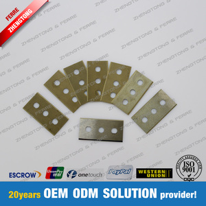 Foil Cutting Carbide Three Hole Slitting Blade