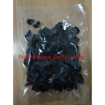 edible peeled black garlic