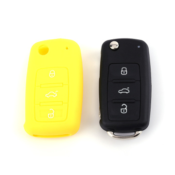 VW Silicone Remote Key Case 3 botones