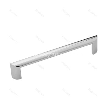 Modern Silver Cabinet Drawer Pull Handle