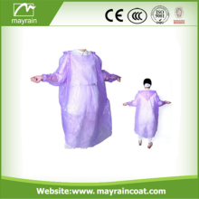 Promotional Cheap Emergency Disposable PE rain poncho