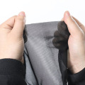100% polyester black grey anti pollen screen