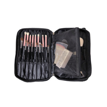 Travel Brush Organizer Holder with Mesh Pouch