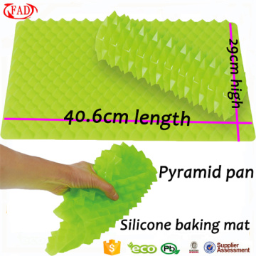 Pyramid Shape Non-stick Silicone Baking Mat Set