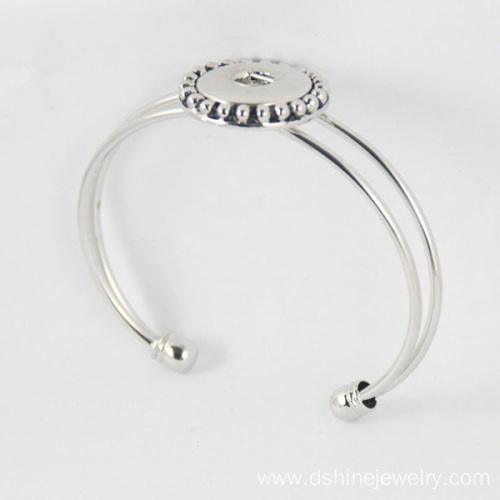 Noosa Snap Bracelet For Lady DIY 18mm Button Cuff Bangle