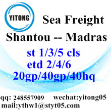 Shantou Logistics Services to Madras