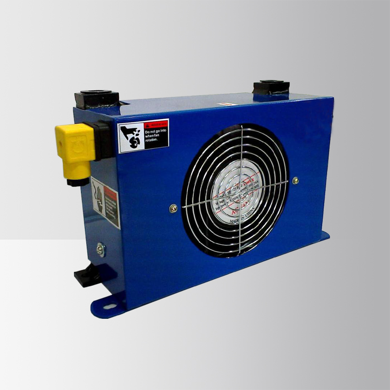 Drum Hydraulic Oil Cooler with Distributor for Temperature Drop