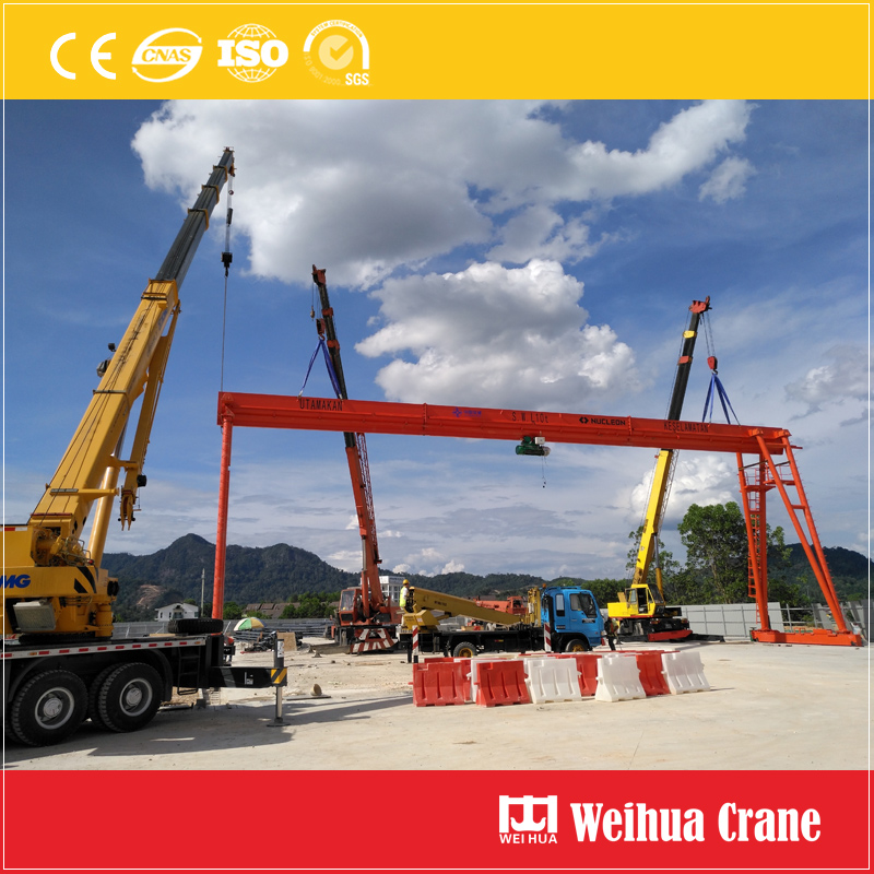 gantry-crane-installation