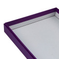 Luxury Custom Purple Color T-shirt Clothing Box