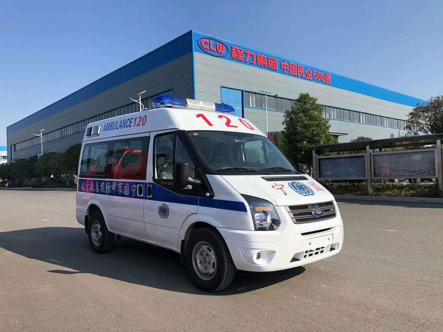 mobile epidemic control ambulance
