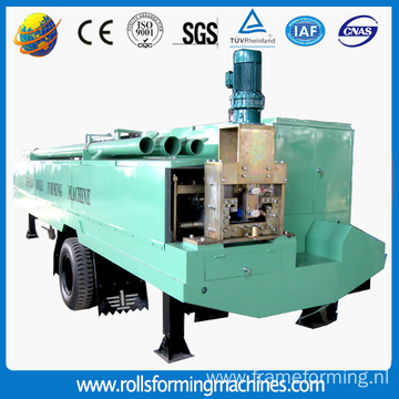 Color Metal Large Span Roof Tile Making Machine