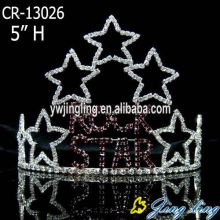 "5"" Star Patriotic crown"