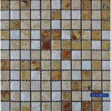 Color Mixed Glazed Ceramic Mosaic Tile