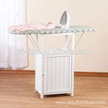 Factory direct New design Custom Folding Ironing Board wood Cabinet elegant