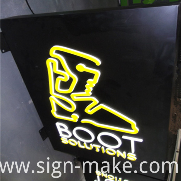 outdoor light box