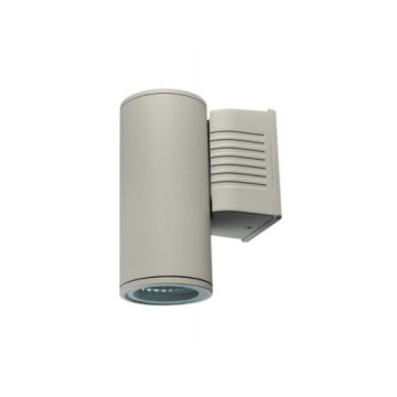 Dark Grey Aluminum 10W Outdoor Wall Light