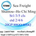 Shantou LCL Consolidation to Ho Chi Ming