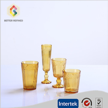 Best Quality for Mix color Drinkware Sets Classic Red White Wine Glass Drinking Goblets Glasses Set supply to Angola Manufacturers