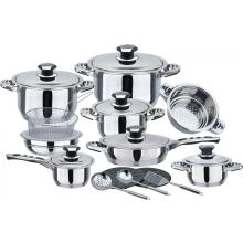 German Style 21pcs Cookware set