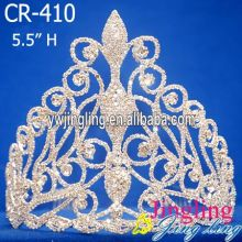 Beautiful Pageant Crown Rhinestone Headband Tiara