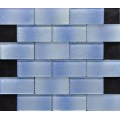 Rectangle Brick Crystal Glass Mosaic