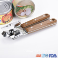 Pretty Drape Wooden color Handle Can opener